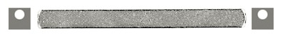 Placca antifurto interna HAGER 43.1186