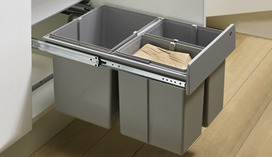 BIN.IT TRIO 1x16l & 2x8l