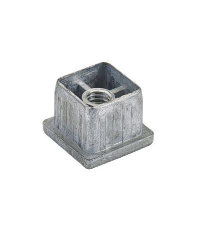 Coperchietti 30x30x2.5 mm acciaio