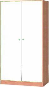 Armoire haute avec 2 portes pivotantes