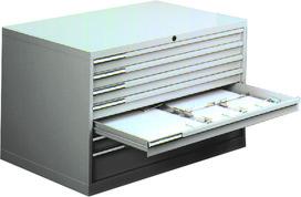 Socle pour armoire pour réserve de papier LISTA