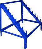 Gewindestangenaufsatz als Modulaufsatz für Fachbodenteil LOGS 60 zu Regalelement