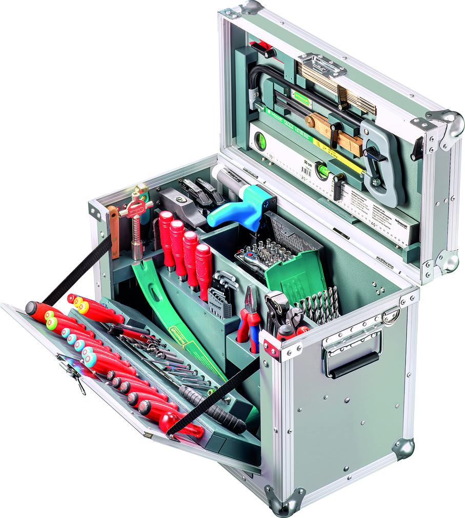 Caisse à outils pour menuisiers de construction légère OPO COMPACT II