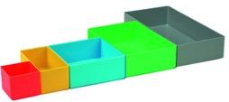 Boîtes d'assortiment pour coffrets d'assortiment EcoSystem