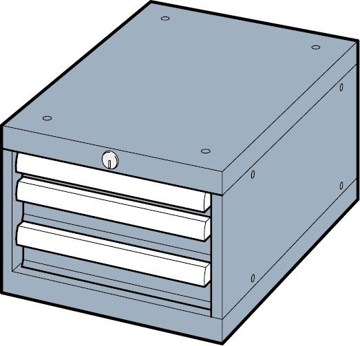 Cassettiere LISTA Premium