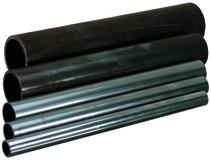 Segments de tube en fer