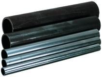 Eisenrohr-Abschnitte
