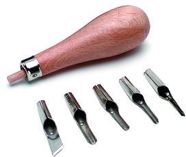 Kit di coltelli per linoleum