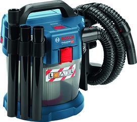 Aspirateur à accu pour matières humides et sèches BOSCH GAS 18 V-10 L Solo