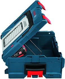 L-Boxx con lampada da lavoro integrata BOSCH GLI PortaLED