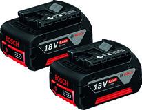 Batterie BOSCH Click + Go 18 V