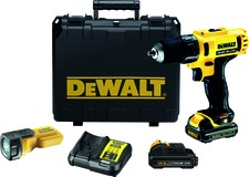 Trapano-avvitatore a 2 marce a batteria DEWALT DCD 710 C3F