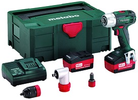 Perceuse-visseuse à 2 vitesses à accu METABO BS 18 LT Quick