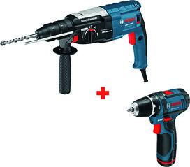 Jeu d'action BOSCH GBH 2-28 F + GSR 10,8-2-Li