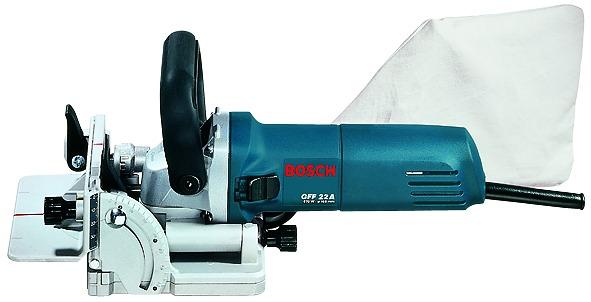 Sega per giunture e fresatrice per scanalature BOSCH GFF 22 A