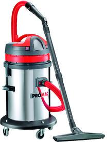 Aspirateur industriel pour matières humides et sèches PROMAC VAC 50/2TB
