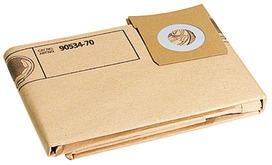 Sacca filtro in carta per aspiratori PROMAC VAC