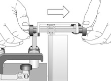 Dispositivo per ripassare la mola abrasiva per TORMEK-8