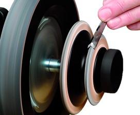 Disque de démorfilage profilé pour affûteuse à l'eau TORMEK SuperGrind T-7