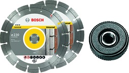 Diamant-Trennscheiben Kit BOSCH 230 Expert for Universal