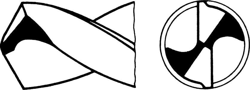 Punta elicoidale HSS-G