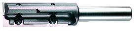 Fraises à rainer HWS avec lame réversibles métal dur