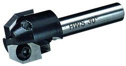 Fraises d'affleurage et à chanfreiner HWS avec lames réversibles, métal dur