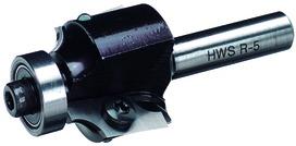 Fraises à arrondir HWS avec lames réversibles en métal dur