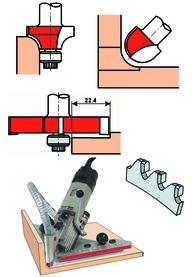 Kit di utensili per fresare ALBIN KRAUS