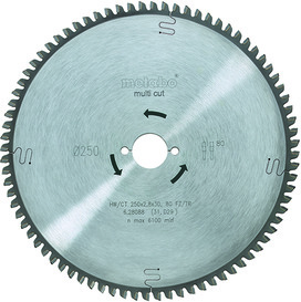 Lames de scie circulaire METABO Multi-Cutter HW/CT