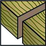 Lames de scie pour scies sauteuses OK-LINE type HC 12 (T 101 B)