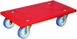 Chariot de transport avec surface anti-glissant