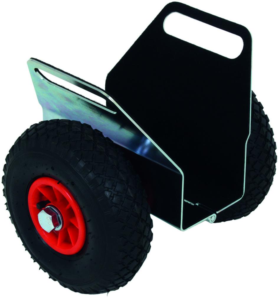 Carrello portapannelli con bloccaggio