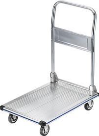 Carrello a piattaforma in alluminio