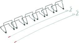 Starter kit morsetti per porte antipolvere