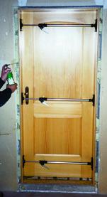 Puntello di montaggio per telai a cassetta BLITZ