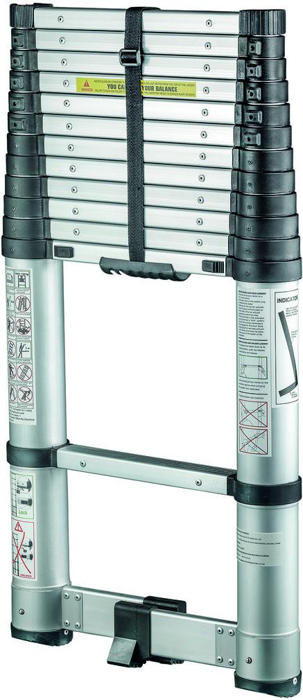 Sicherheits-Teleskopleiter TECHNOCRAFT