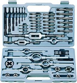 Jeu d'outils à fileter HSS