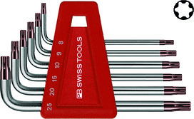 Kit di chiavi inbus ad angolo PB 410 H/T8-25