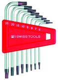 Winkel-Stiftschlüsselsatz PB SWISS TOOLS 410 H/T6-25