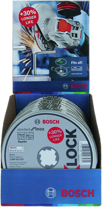 Dischi troncatori BOSCH X-LOCK Standard