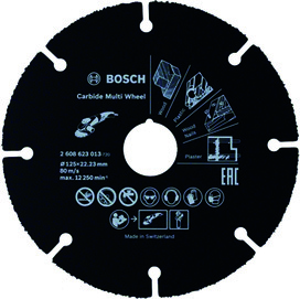 Meule de tronçonnage MD BOSCH Carbide Multi Wheel