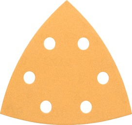 Disque de ponçage triangulaires BOSCH Best for Wood and Paint