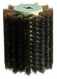 Brosse en fils d'acier laitonné pour ponceuse à brosse MAKITA