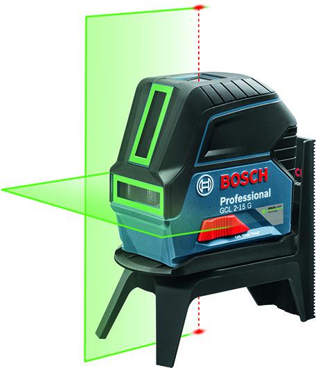 Laser a 2 punto e linea BOSCH GCL 2-15 G