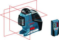 3-Linien Laser BOSCH GLL 3-80 P