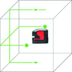 Laser à 2 lignes et point LEICA Lino L2P5G