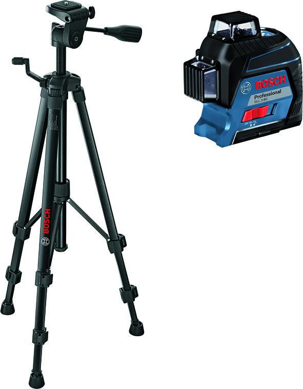 Jeu de laser à 3 lignes BOSCH GLL 3-80