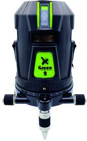Laser à 5 lignes et ligne d'aplomb XGREEN 2