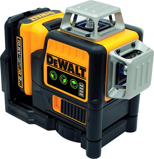 Laser multiligne DEWALT DCE 089 D1G vert